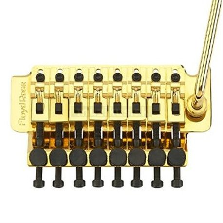 Floyd Rose FRT803000 - Tremolo System, 8-String - Gold