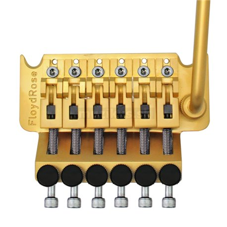 Floyd Rose FRTC300SSS - Original Hot Rod Series Tremolo System - Satin Gold