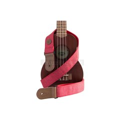 Kala Sonoma Coast Ukulele Strap - Russian River Red