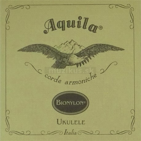Aquila 9U - BioNylon Nylgut Ukulele Single String, Concert, low-G 4th, wound