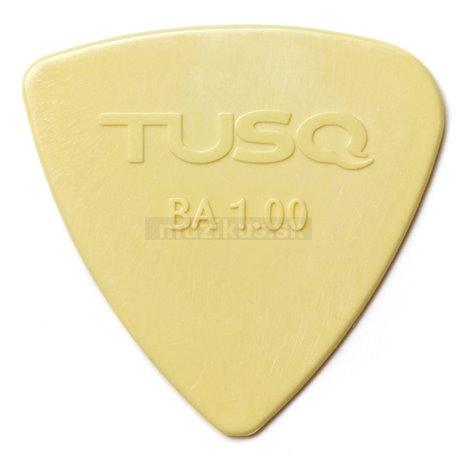 TUSQ - Bi-Angle Picks, Refill Pack, 48 pcs., vintage white, 1.00 mm