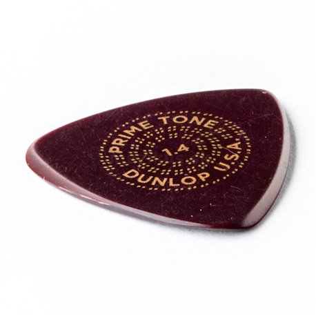 Dunlop Primetone Small Tri Picks, smooth, Refill Pack, 12 pcs., dark brown, 1.40 mm