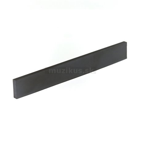 Black TUSQ XL LT-9125-10 - Acoustic Guitar Saddle, Flat, Blank Slab, 1/8 thick - Luthier's Pack, 10 pcs.