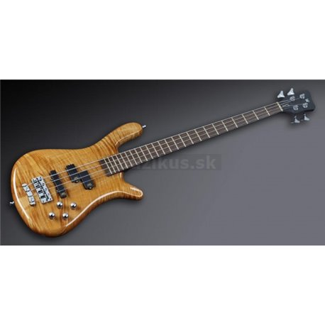Warwick Masterbuilt Streamer LX, 4-String - Honey Violin Transparent High Polish