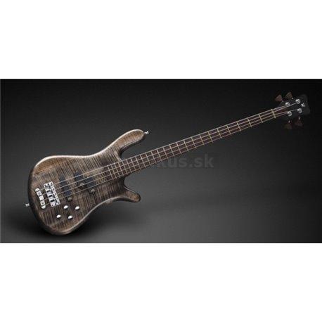 Warwick Masterbuilt Streamer LX, 4-String - Bleached Nirvana Black Transparent Satin