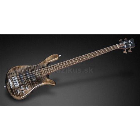 Warwick Masterbuilt Streamer LX, 4-String - Nirvana Black Transparent High Polish