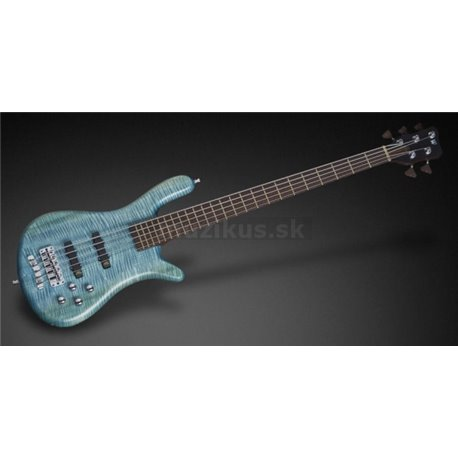 Streamer LX 5 Bleached Turquoise Blue Transparent Satin Fretted