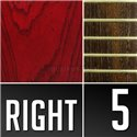 Warwick Masterbuilt Streamer $$, 5-String - Burgundy Red Transparent Satin
