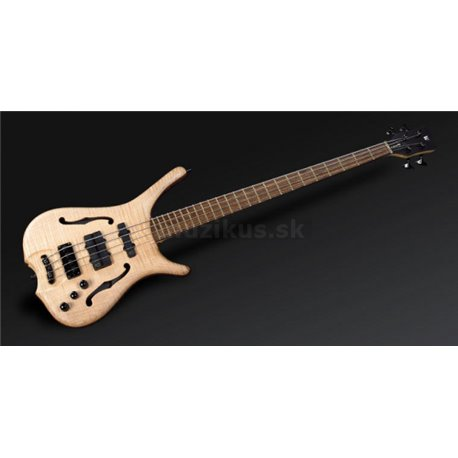 Warwick Masterbuilt Infinity, Flamed Maple, 4-String - Natural Oil Finish