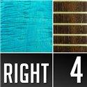 Warwick Masterbuilt Corvette $$, 4-String - Turquoise Blue Transparent Satin