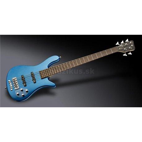 Warwick RockBass Streamer LX, 5-String - Blue Metallic High Polish