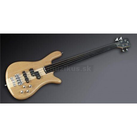 Warwick RockBass Streamer NT I, 4-String, Fretless - Natural Transparent High Polish