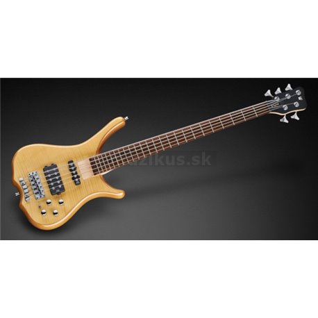 Warwick RockBass Infinity, 5-String, Natrural Transparent High Polish
