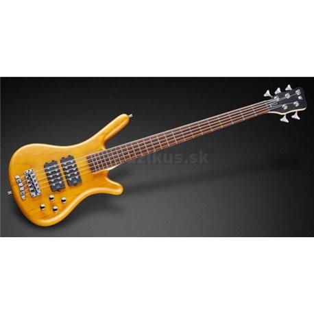 Warwick RockBass Corvette $$, 5-String - Honey Violin Transparent Satin