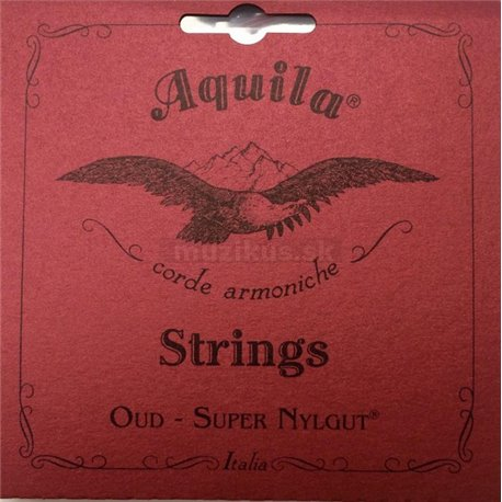Aquila 61O - New Nylgut Oud String Set, Iraqui Tuning, Normal Tension