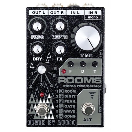 Death By Audio Rooms - Stereo Reverberator