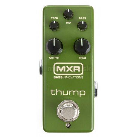 MXR Thump (M281) - Bass Preamp / EQ