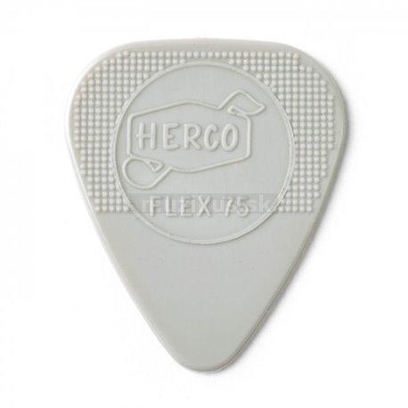 Herco Holy Grail Nylon Flex 75 Picks, Player's Pack, 6 pcs., grey