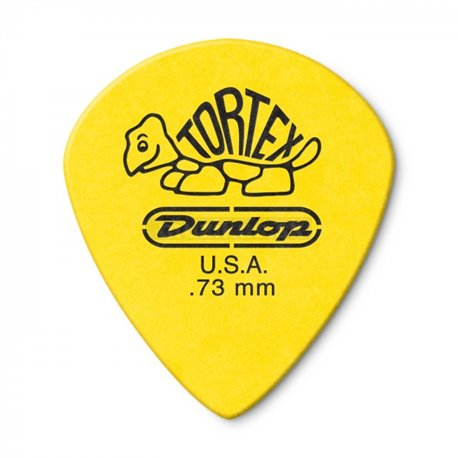 Dunlop Tortex Jazz III XL Picks, Player's Pack, 12 pcs., yellow, 0.73 mm