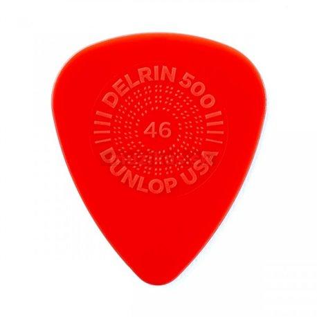 Dunlop Prime Grip Delrin 500 Picks, Refill Pack, 72 pcs., red, 0.46 mm