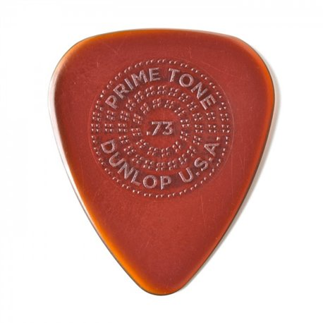Dunlop Primetone Standard Picks with Grip, Player's Pack, 3 pcs., brown, 0.73 mm