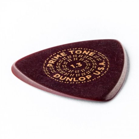 Dunlop Primetone Small Tri Picks, smooth, Refill Pack, 12 pcs., dark brown, 1.30 mm
