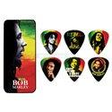 Bob Marley Rasta Pick Tin, Medium 6 picks