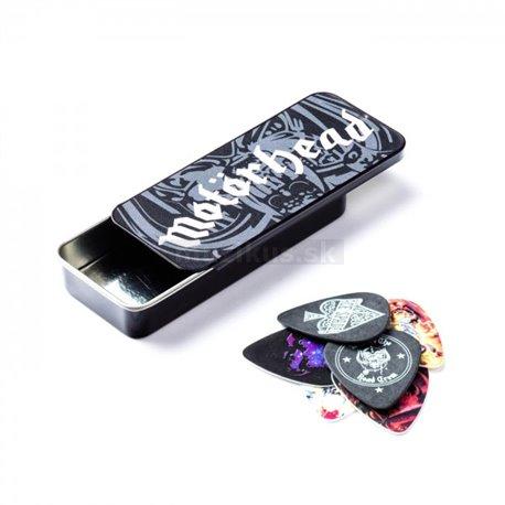 Dunlop Motörhead Pick Tin, 6 Picks, assorted motives, .88 mm