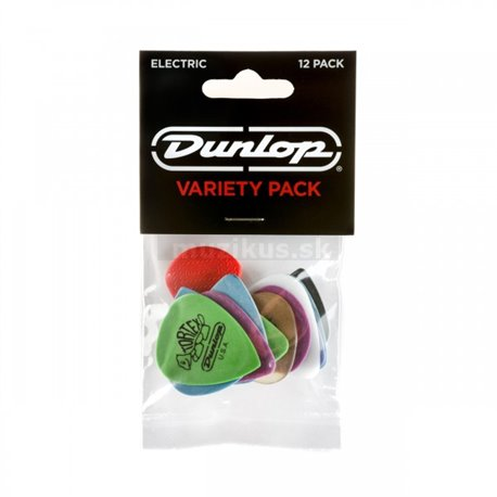 Dunlop Electric Pick Variety Player's Pack, 12 assorted picks