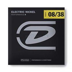 Dunlop Electric Nickel - DEN0838 - Electric Guitar String Set, Extra Light, .008-.038