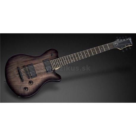 Framus D-Series Panthera 7-String - Nirvana Black Transparent High Polish