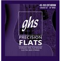 GHS Precision Flatwound - CM3050 - Bass String Set, 4-String, Custom Medium, .045-.105