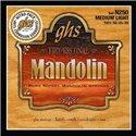 GHS Professional - N250 - Mandolin String Set, Loop End, Pure Nickel, Medium Light, .0105-.039