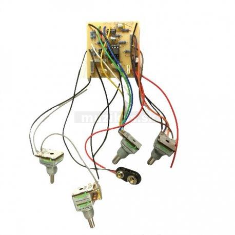 Warwick Parts - Vintage MEC 2-Way Electronics for 30th anniversary Streamer LTD 2012