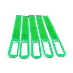 Gafer.pl Tie Straps, vázací pásky, 25x550mm, 5 ks, zelené