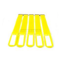 Gafer.pl Tie Straps, vázací pásky, 25x400mm, 5 ks, žluté