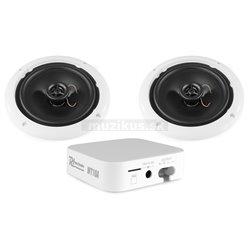 Power Dynamics WT10SET, Wi-Fi / MP3 přehrávač, zesilovač 2x15W + 2ks reproduktoru