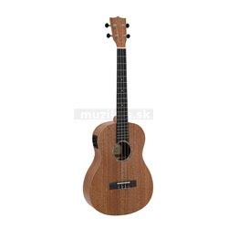 Dimavery UK-500, elektroakustické barytonové ukulele, přírodní