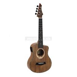 Dimavery UK-200, elektroakustické tenorové ukulele, přírodní