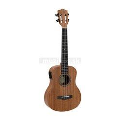 Dimavery UK-300, elektroakustické tenorové ukulele, přírodní