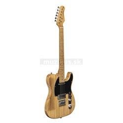 Stagg SET-PLUS NAT, elektrická kytara, přírodní