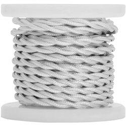 Lyyt B2WWh-5, retro napájecí kabel, 5m, bílý