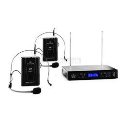 Auna Pro VHF-400 Duo2 sada bezdrôtových mikrofónov