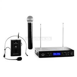 Auna Pro VHF-400 Duo3 sada bezdrôtových mikrofónov