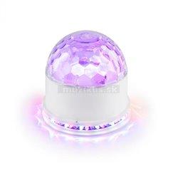 MAX 2-v-1 Sunflower & Jelly Ball , LED svetelný efekt, 48 RGB LED diód, zvukovo aktívny