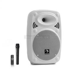 Auna Pro Streetstar 8 mobilný PA systém, Biela