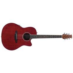 Applause E – akustická kytara AB24II Mid Cutaway Ruby Red Satin AB24-2S