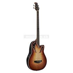 Ovation E-Akustický Bass Celebrity E-Akustikbass 4-string Cognac Burst CEB44X-7C