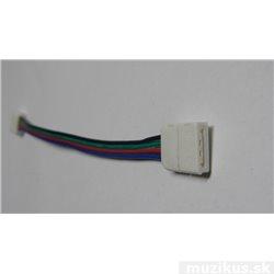 Spojka pro LED světelný pásek RGB, rohová, SMD5050, 10mm