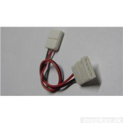 Spojka pro LED světelný pásek jednobarevný, rohová SMD5050, 10mm